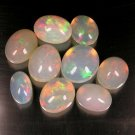 20.27 Ct. Fabulously Top Play Of Color Ethiopian Opal Lot Loose Gemstone With GLC Certify