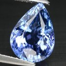 3.02 Ct. Natural Intense Royal Blue Tanzanite AAA Loose Gemstone With GLC Certify