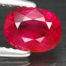 1.28 Ct. Hot Red Unheated Ruby Natural Loose Gemstone With GLC Certify