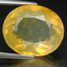 8.58 Ct. Marvelous Mandarin Orange Fire Opal AAA Loose Gemstone With GLC Certify