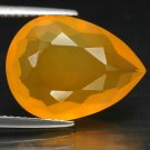 7.04 Ct. Magnificent Tangerine Orange Mexican Fire Opal Loose Gemstone With GLC Certify