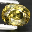 1.07 Ct. Superb Luster Russian Demantoid Garnet Loose Gemstone  With GLC Certify