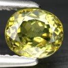 1 Ct. Nice Lustrous Best Green Demantoid Garnet Loose Gemstone With GLC Certify