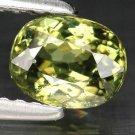 1.04 Ct. Lustrous Best Green Russian Demantoid Garnet Loose Gemstone With GLC Certify