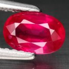 1.05 Ct. Top Natural Quality Unheated Ruby Loose Gemstone With GLC Certify