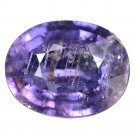 3.81 Ct. Awesome Top Oval Unheated Purple Sapphire Loose Gemstone With GLC Certify