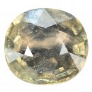 3.2 Ct. Lovely Oval Green Color Unheated Sapphire Loose Gemstone With GLC Certify