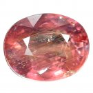 3.79 Ct. Top Orange Natural Sapphire Tanzania Loose Gemstone With GLC Certify