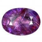 3.32 Ct. Natural Unheated Purple Pink Sapphire Tanzania Loose Gemstone With GLC Certify