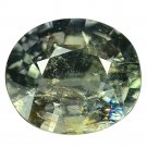 5.07 Ct. Significant Unheated Natural Green Sapphire Loose Gemstone With GLC Certify