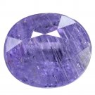 5.47 Ct. Unheated Purple Tanzania Natural Sapphire Loose Gemstone With GLC Certify
