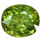 3.38 Ct. Ultra Rare Natural Green Demantoid Garnet Loose Gemstone With GLC Certify