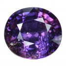 4.14 Ct. Top Purple Natural Sapphire Tanzania Loose Gemstone With GLC Certify