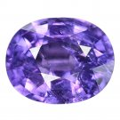 3.69 Ct. Top Purple Natural Unheated Sapphire Loose Gemstone With GLC Certify