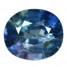 8.26 Ct. Unheated Natural Royal Blue Sapphire Oval Cut Loose Gemstone With GLC Certify