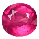 1.29 Ct. Natural Unheated Intense Red Tanzania Ruby Loose Gemstone With GLC Certify