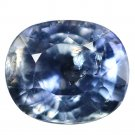 5.02 Ct. Natural Unheated Blue Sapphire Loose Gemstone With GLC Certify