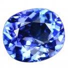 3.59 Ct. Natural Intense Royal Blue Tanzanite Loose Gemstone With GLC Certify