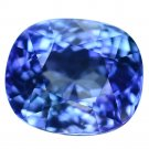 3.18 Ct. Perfect Cut AAA Color Natural Tanzanite Loose Gemstone With GLC Certify