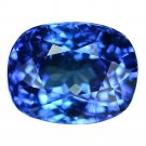3.05 Ct. If Natural Intense Royal Blue Tanzanite Loose Gemstone With GLC Certify