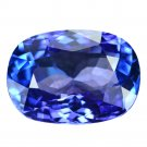4.33 Ct. Natural Intense Royal Blue Tanzanite AAAA Loose Gemstone With GLC Certify