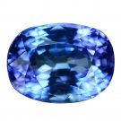 4.07 Ct. Natural Top Aaa Blue Tanzanite Loose Gemstone With GLC Certify