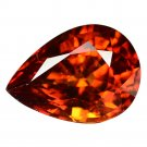 3.43 Ct. Charming Juicy Color Aaa Mandarin Garnet Loose Gemstone With GLC Certify
