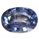 4.37 Ct. Awesome Top Oval Unheated Blue Sapphire Loose Gemstone With GLC Certify