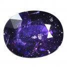 2.87 Ct. Unheated Natural Purple Sapphire Loose Gemstone With GLC Certify