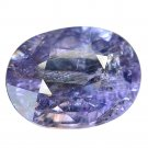 3.32 Ct. Natural Unheated Royal Blue Sapphire Tanzania Loose Gemstone With GLC Certify