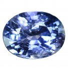 3.35 Ct. Genuine Top Blue Sapphire Oval Cut Unheated Loose Gemstone With GLC Certify