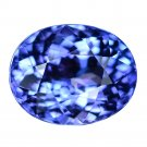 4.24 Ct. Sensational D Block AAAA Natural Tanzanite Loose Gemstone With GLC Certify