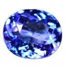 3.61 Ct. Gorgeous Luster Light Blue Natural Tanzanite Loose Gemstone With GLC Certify