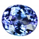 3.26 Ct. Unheated Terrific VVS D-block Natural Tanzanite Loose Gemstone With GLC Certify