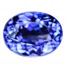 3.43 Ct. Intense Royal Blue Tanzanite D Block AAA Loose Gemstone With GLC Certify