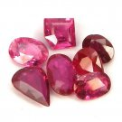 3.7 Ct. Fabulous Red Unheated Ruby Loose Gemstone Set With GLC Certify