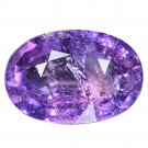 4.36 Ct. Lovely Intense Purple Color Unheated Sapphire Loose Gemstone With GLC Certify