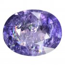 3.06 Ct. Intense Purple Natural Sapphire Tanzania Loose Gemstone With GLC Certify