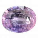 3.26 Ct. Natural Unheated Intense Purple Sapphire Loose Gemstone With GLC Certify
