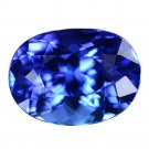 3.25 Ct. Natural Tanzanite Oval AAAA Color Top Luster Loose Gemstone With GLC Certify