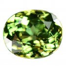 1.23 Ct. Best Green Natural Demantoid Garnet Loose Gemstone With GLC Certify