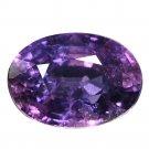 3.92 Ct. Genuine Top Purple Sapphire Oval Cut Unheated Loose Gemstone With GLC Certify