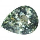 3.32 Ct. Beautiful Unheated Green Sapphire Loose Gemstone With GLC Certify
