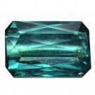 1.25 Ct. Emerald Cut Natural Green Tourmaline Loose Gemstone With GLC Certify