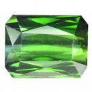 4.7 Ct. Unheated Natural Green Tourmaline Loose Gemstone With GLC Certify