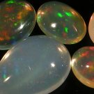 20.29 Ct. Natural Ethiopia Solid Opal Strong Play Of Color Set Loose GemstoneWith GLC Certify