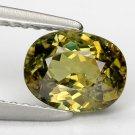 1.24 Ct. Rare Best Green Natural Demantoid Garnet Loose Gemstone With GLC Certify