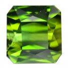 8.48 Ct. Natural Dark Green Tourmaline Octagon Loose Gemstone With GLC Certify
