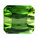 2.24 Ct. Emerald Cut Loupe Clean Natural Green Tourmaline Loose Gemstone With GLC Certify