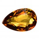 2.02 Ct. Pear Shape Flawless Yellow Tourmaline Loose Gemstone With GLC Certify